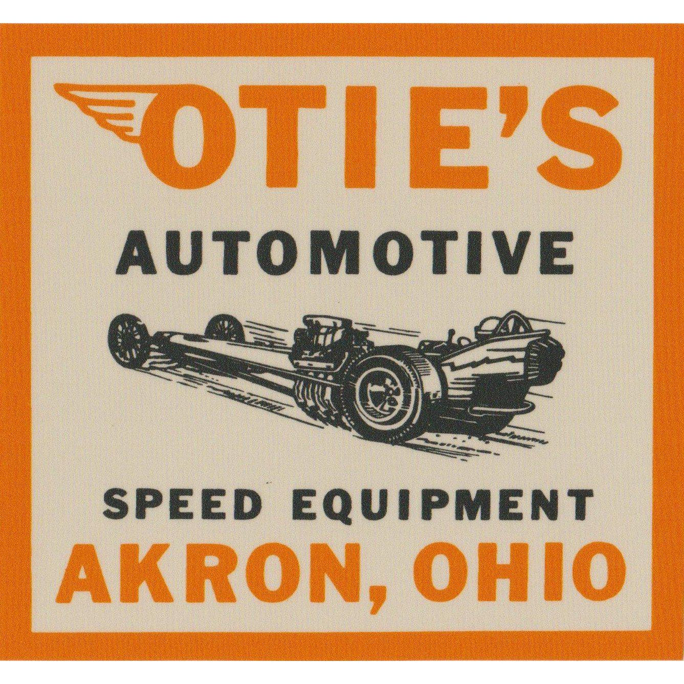 Otie's Automotive Nostalgia Drag Racing 1964 Decal T-shirt