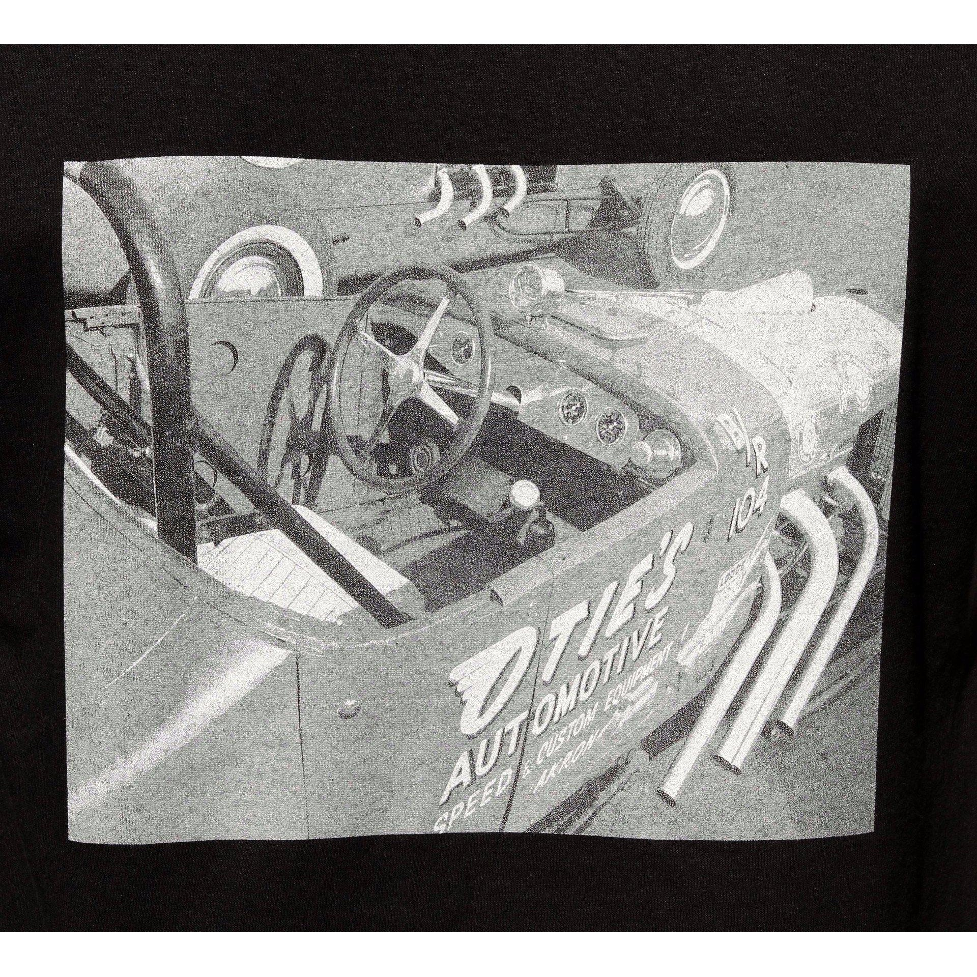 Otie's Automotive Nostalgia Drag Racing 1927 Ford B/Roadster Photo T-shirt