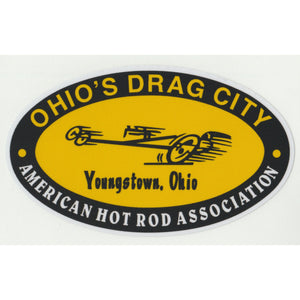 Ohio's Drag City Decal-Otie's Automotive Nostalgia Drag Racing