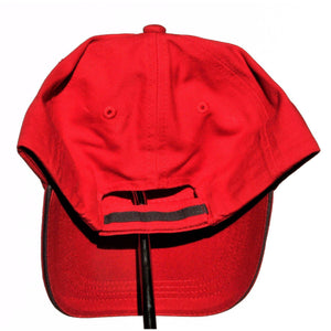 Otie's Automotive Nostalgia Drag Racing Red Embroidered Hat