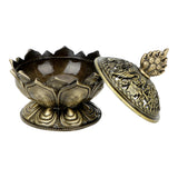 Teahouse Lotus Flower Incense Burner