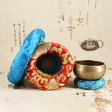 Tibetan Singing Bowl Pillow - 5 Sizes
