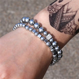 3Pc/Sets Micro Pave Classic Bracelets - 40 Style Options