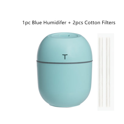 200ML Ultrasonic Mini Essential Oil Diffuser - For Use in Home or Car