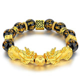 Lucky Guardian Wealth Beaded Bracelet - 9 Stone Options