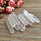 Clear Natural Crystal Stone Healing Wands