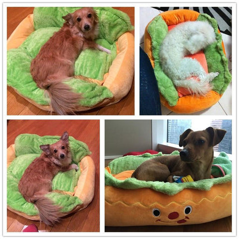 """Hot Dog"" Dog Bed"