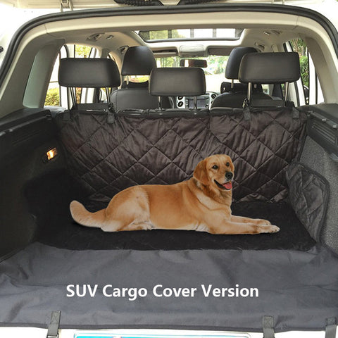 Waterproof Dog Cover For Car Rear Seat/Cargo Space