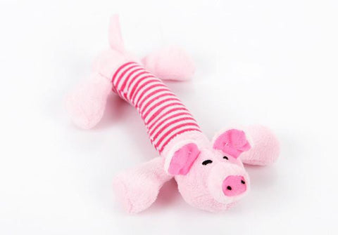 Dog Chew Toy -  Pig, Duck or Elephant