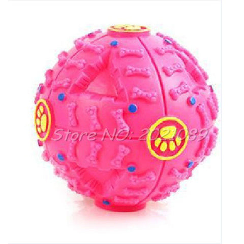 Treat-dispenser Squeaky Toy Ball