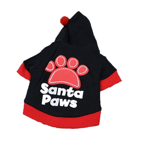 """Santa Paws"" Christmas Dog Clothing **coupon code available for this item**"