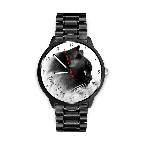 Pure Love Cat - Custom Designed Watch - Wish Epic