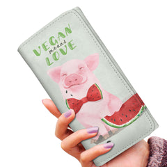 Vegan Means Love - Women's Wallet