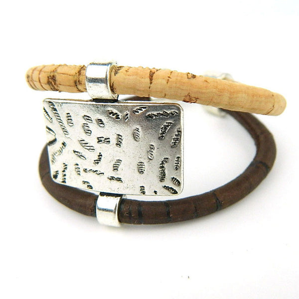 Unisex Cork Bracelet - Wish Epic