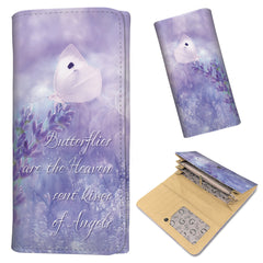 Butterflies and Angels - Women's Wallet Purse