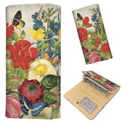Butterflies & Flowers - Women's Wallet Purse