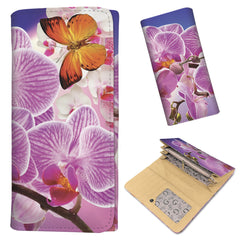 Butterflies & Orchids - Women's Wallet Purse