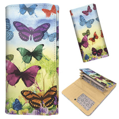 Colorful Butterflies - Women's Wallet Purse
