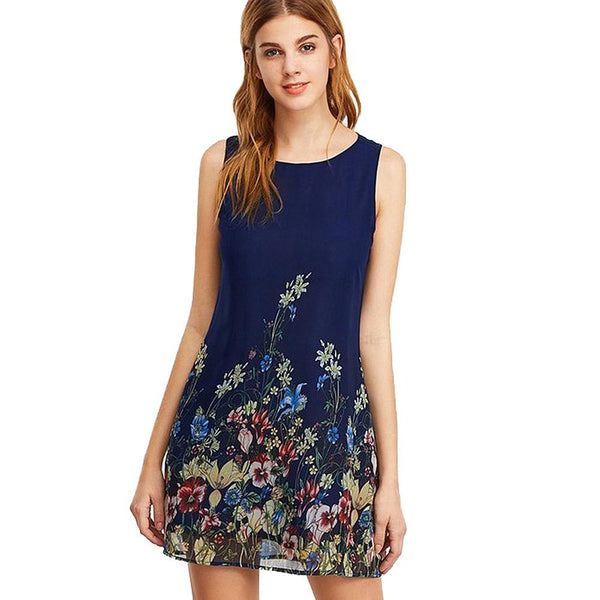Lovely Floral Dress For Women - Wish Epic