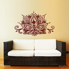 Lotus Blossom Wall Sticker