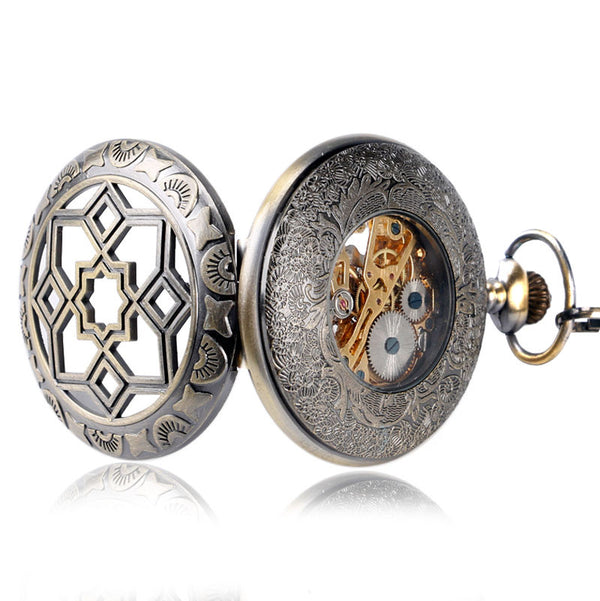 Luxury Flower Pocket Watch - Wish Epic