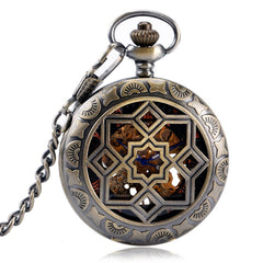 Luxury Flower Pocket Watch
