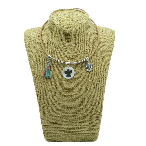 Angel Cork Necklace - Wish Epic
