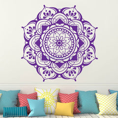 Fire Lotus Wall Sticker