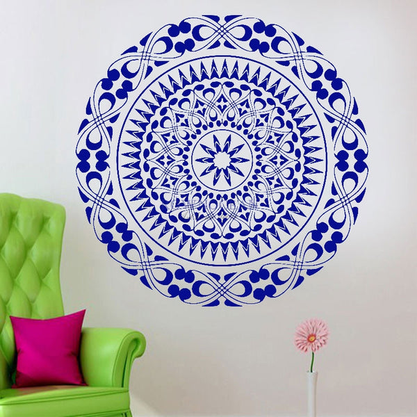 Light Sky Mandala Wall Sticker - Wish Epic