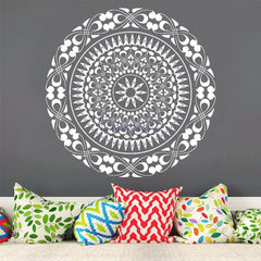Light Sky Mandala Wall Sticker