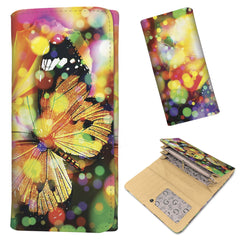 Rainbow Butterfly - Women's Wallet Purse