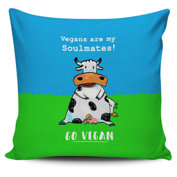 Vegans Soulmates - Pillow Cover