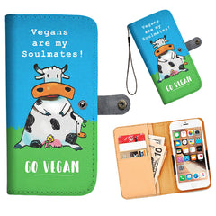 Vegans Are My Soulmates! - Wallet Phone Case