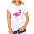 Flamingo Love Cotton T-Shirt For Women - Wish Epic