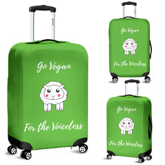 Go Vegan - For The Voiceless - Luggage Cover