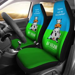 Vegans Soulmates - Car Seat Covers