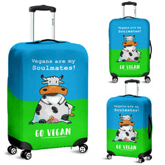 Vegans Soulmates - Luggage Cover