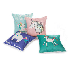 Playful Unicorns Pillow Cases