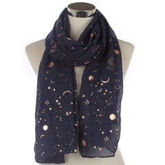 Sun & Moon Scarves For Ladies