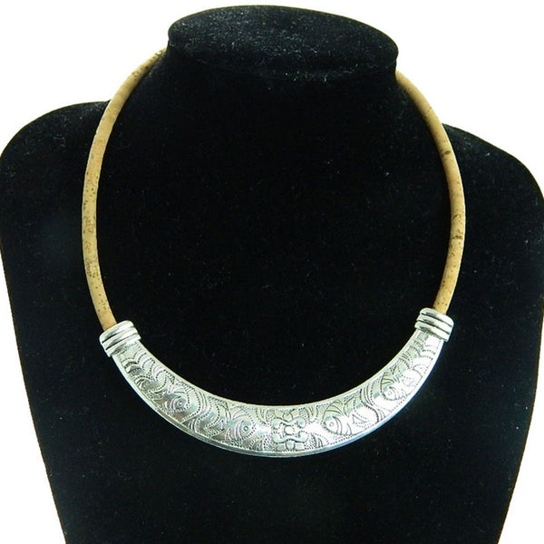 Silver Fish Cork Necklace - Wish Epic