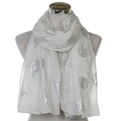 New Design Shiny Mulberry Tree Scarves For Ladies