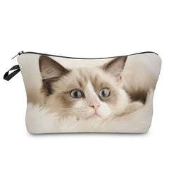 Pretty Kitty Makeup Case