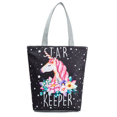 Unicorn Canvas Handbags