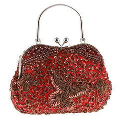 Shinny Butterfly Women's Clutch Bag