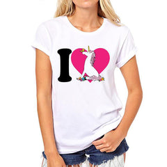 Amazing Unicorns T-Shirts For Women/Girls