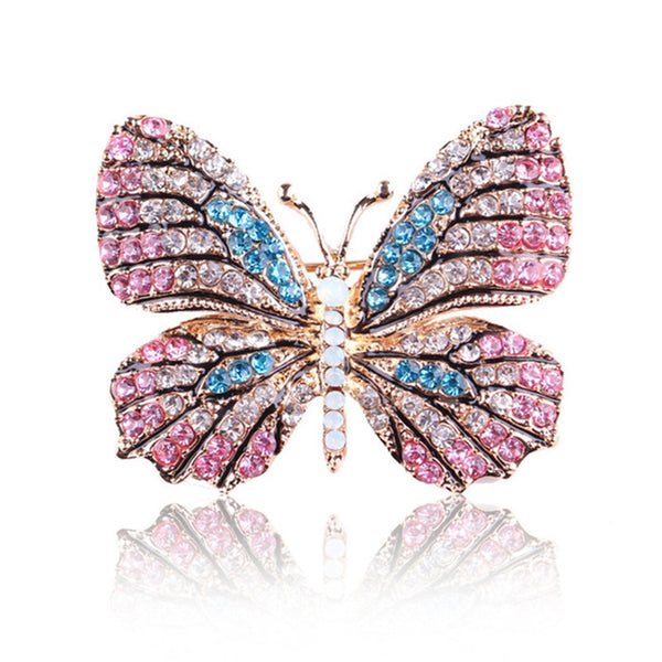 Colorful And Shiny Rhinestone Brooches - Wish Epic