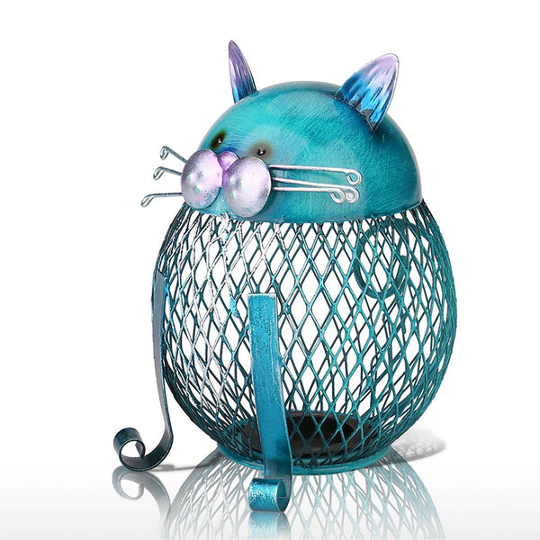 Blue Cat Saving Box - Wish Epic