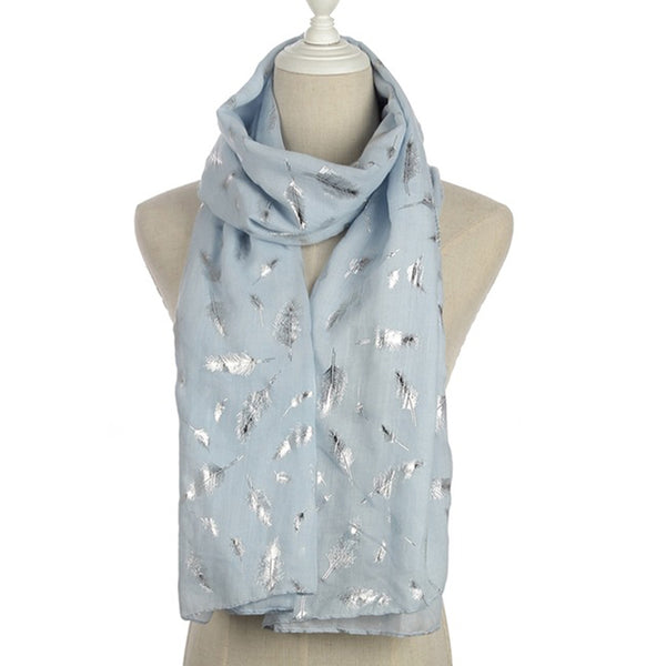 Fashionable Ladies Shiny Colors Scarves - Wish Epic