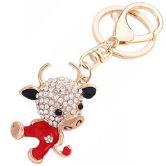 Sweet Little Cow Keychain