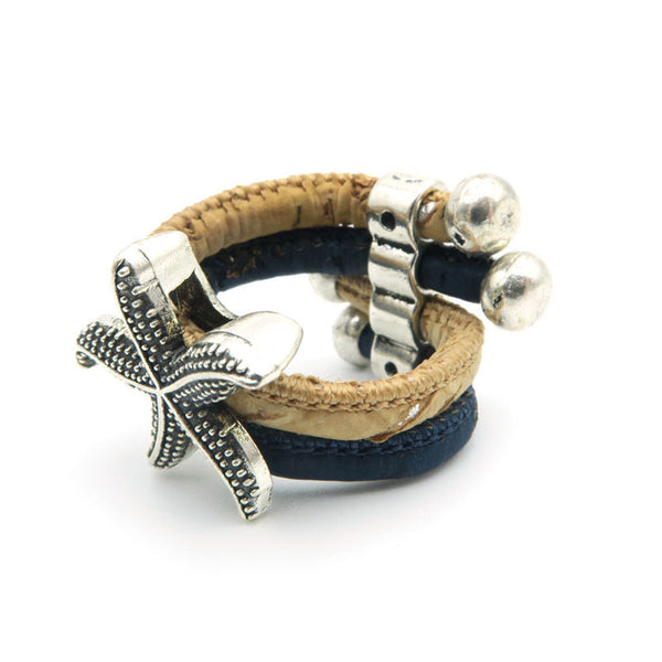Starfish Cork Ring - Wish Epic
